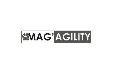 logo mag agiity presse parle de lesgriffes.fr design chien