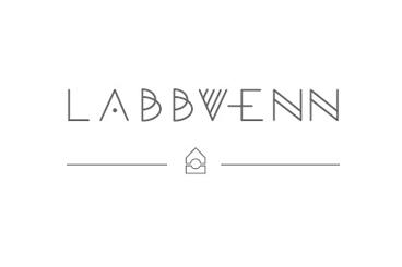 Logo Labbvenn designer pour chiens